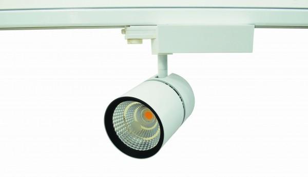 42W COB LED 3-Phasen Strahler für Erco, Global ,Nokia Eutrac Euro Stromschiene