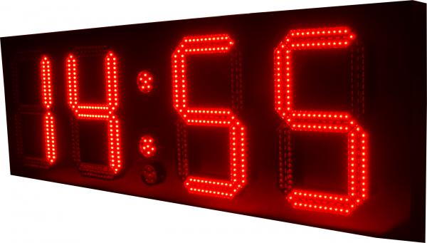 30cm LED GPS Uhr/Temperatur Anzeige für Apotheken