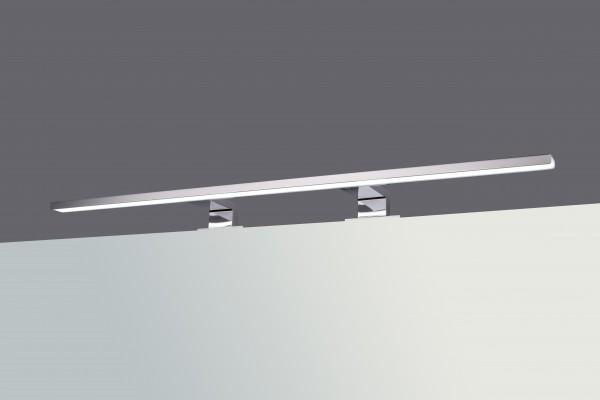 LED Chrom Spiegel Aufbau Leuchte 12W - Typ 740A