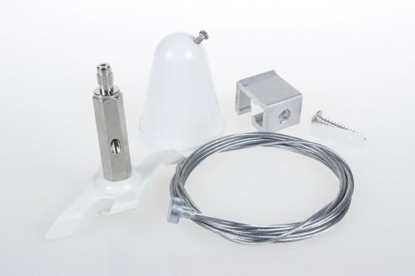 Montage Kit hängende Montage 3-Phasen Stromschiene