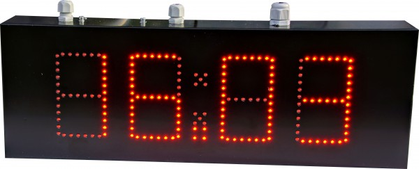 9cm LED GPS Uhr/Temperatur Anzeige für Apotheken