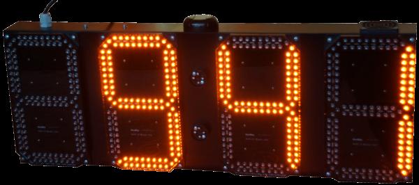 21cm LED GPS Uhr/Temperatur Anzeige für Apotheken