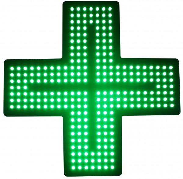 LED Apothekenkreuz Matrix 50cm