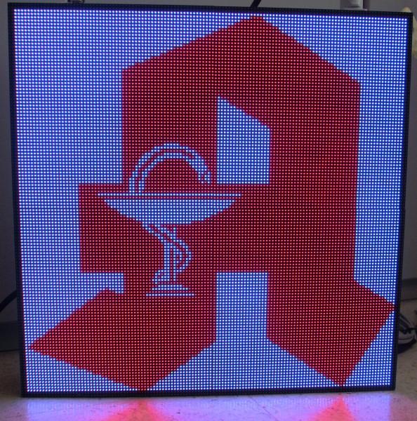 52 cm Apothekenzeichen voll Matrix P4 für Schaufenster