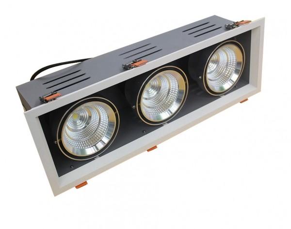 60W LED COB Gerolamo Cardanos Einbauleuchte Deckenausschnitt 170*520mm