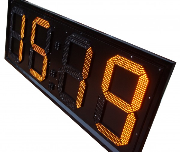 162cm LED GPS Uhr/Temperatur Anzeige für Apotheken