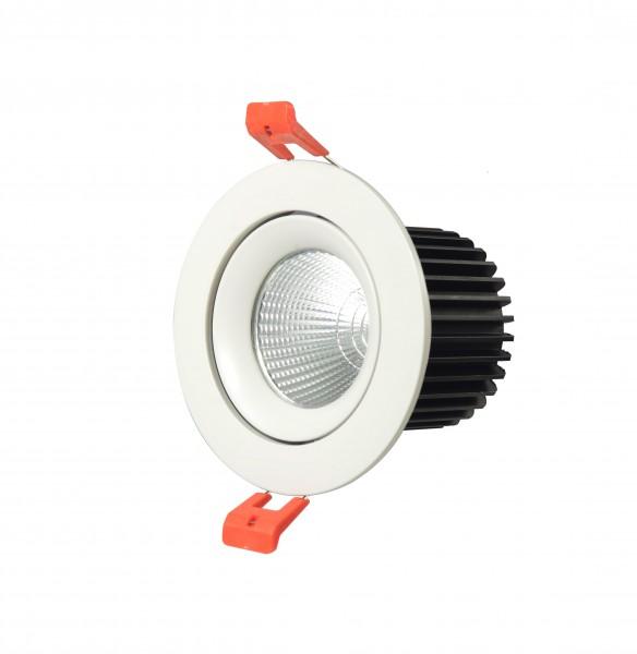 10W LED COB Einbaustrahler schwenkbar Deckenausschnitt 90mm