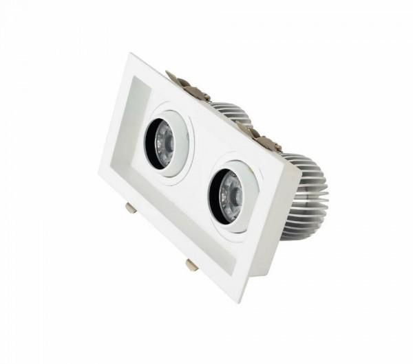 20W LED COB Einbaustrahler schwenkbar Deckenausschnitt 190*95mm