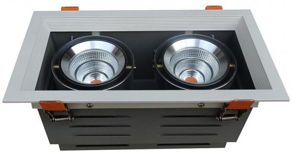 60W LED COB Gerolamo Cardanos Einbauleuchte Deckenausschnitt 170*355mm