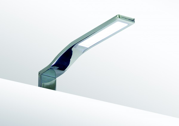 LED Chrom Spiegel Aufbau Leuchte 3W - Typ 003-BL